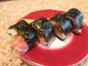 紀州巻 和歌山名物金山時味噌が好きな人はたまらない。味噌とサーモンなどのマッチングがいい。